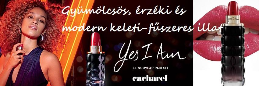 Cacharel Yes I Am női parfüm