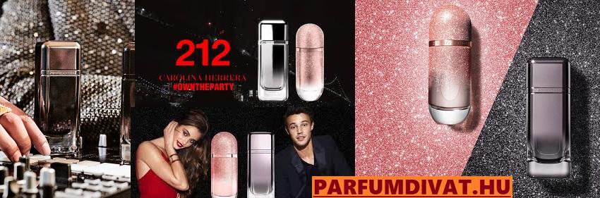 Carolina Herrera 212 VIP Black Extra férfi parfüm