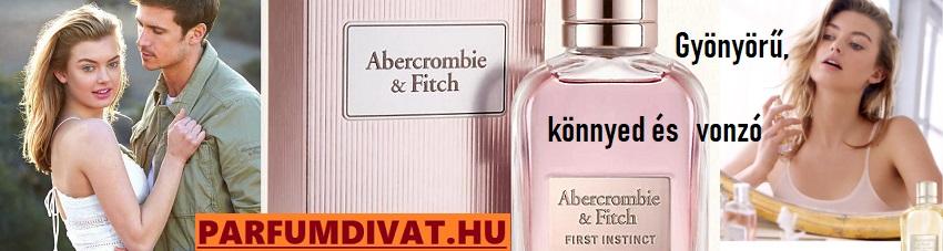 Abercrombie & Fitch First Instinct női parfüm