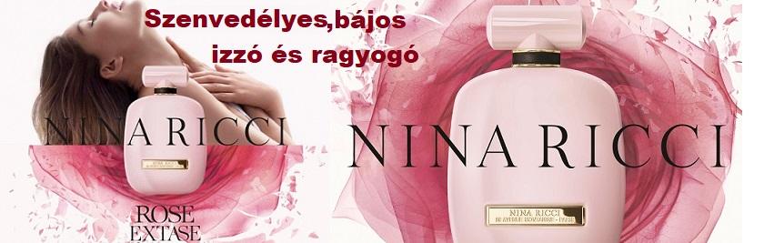 Nina Ricci Rose Extase női parfüm