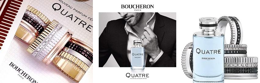 Boucheron Quatre Pour Homme férfi parfüm