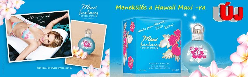 Britney Spears Maui Fantasy női parfüm