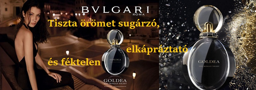 Bvlgari Goldea The Roman Night női parfüm