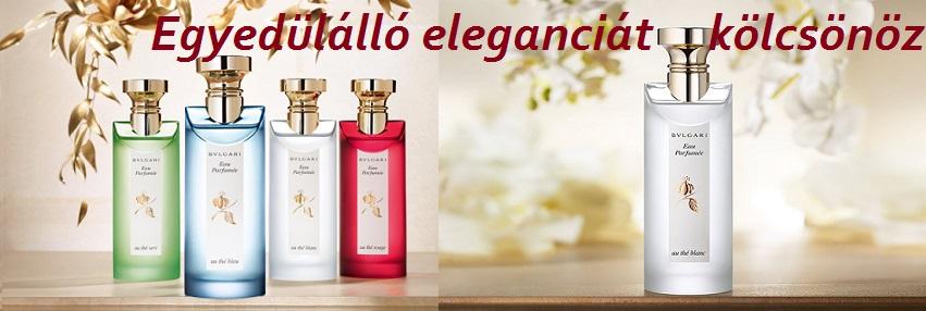 Bvlgari Eau parfumée au thé blanc női parfüm