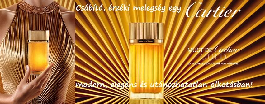 Cartier Must de Cartier Gold női parfüm