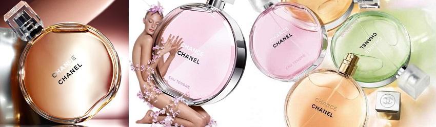 Chanel Chance illatcsalád