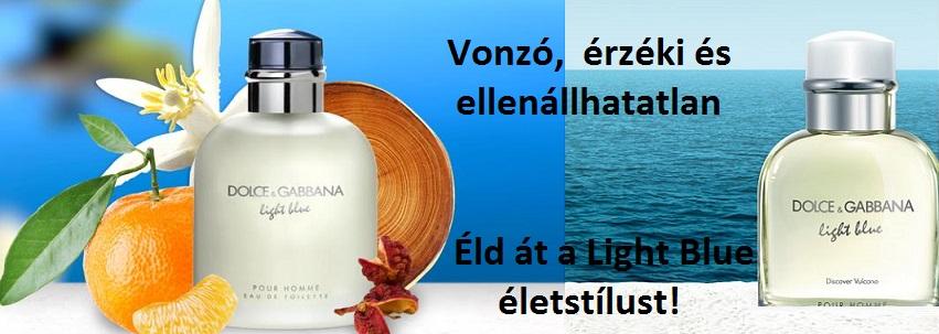 Dolce & Gabbana Light Blue Pour Homme férfi parfüm