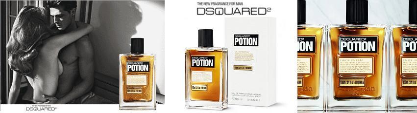 Dsquared2 Potion férfi parfüm