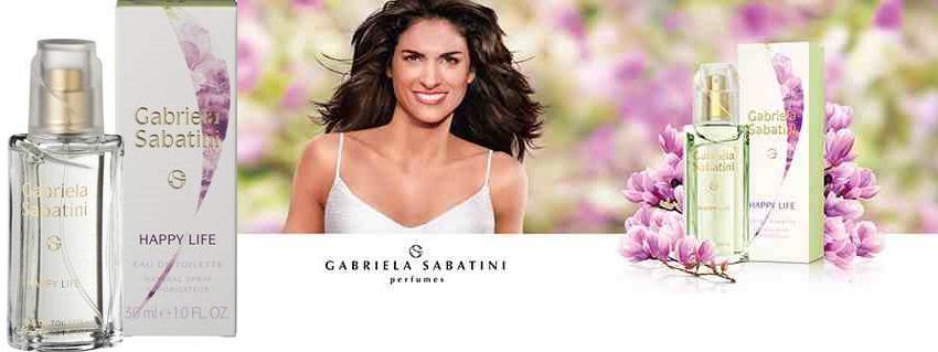 Gabriela Sabatini Happy Life női parfüm
