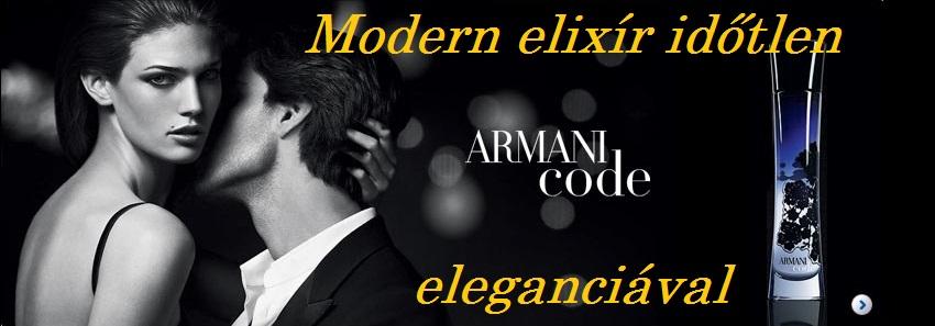 Giorgio Armani Armani Code női parfüm
