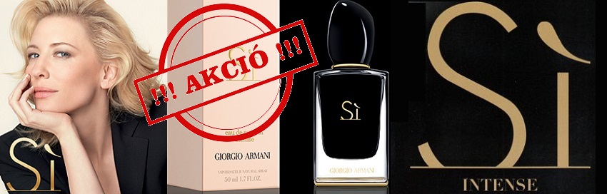 Giorgio Armani Sí Intense női parfüm