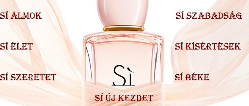 Giorgio Armani Sí EDT női parfüm