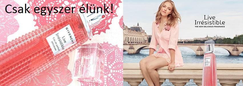 Givenchy Live Irresistible Délicieuse női parfüm