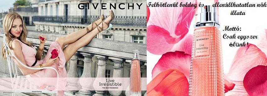 Givenchy Live Irresistible női parfüm