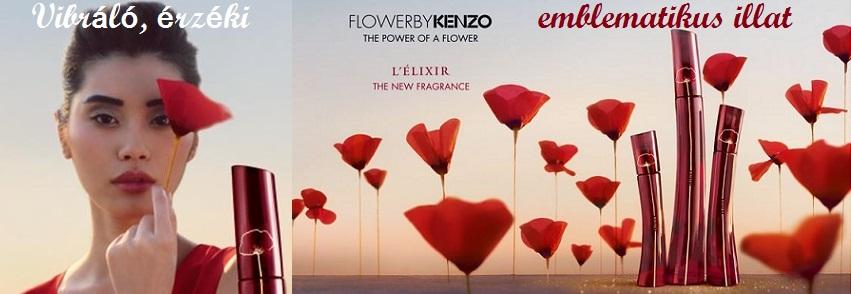 Kenzo Flower by Kenzo L`Elixir női parfüm