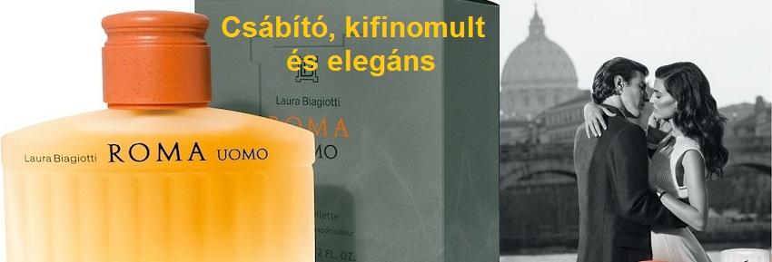 Laura Biagiotti Roma Uomo férfi parfüm