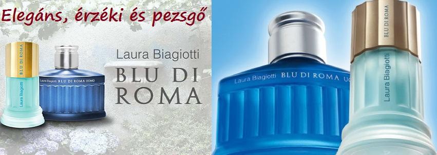 Laura Biagiotti Blu di Roma női parfüm