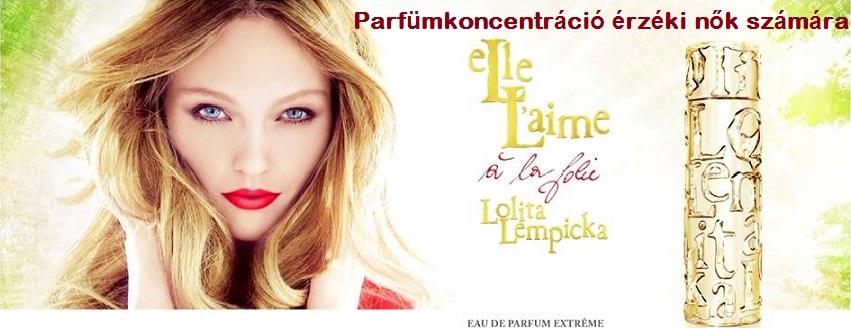 Lolita Lempicka Elle L'aime A La Folie női parfüm