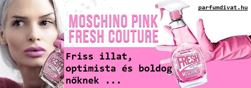 Moschino Pink Fresh Couture női parfüm