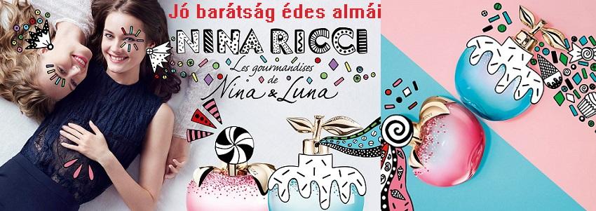 Nina Ricci Les Gourmandises de Luna női parfüm