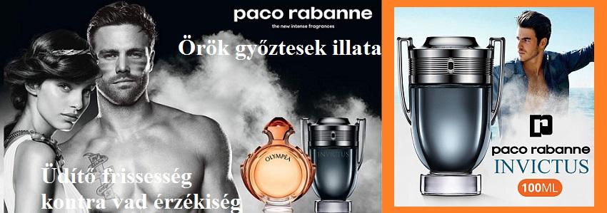 Paco Rabanne Invictus Intense férfi parfüm