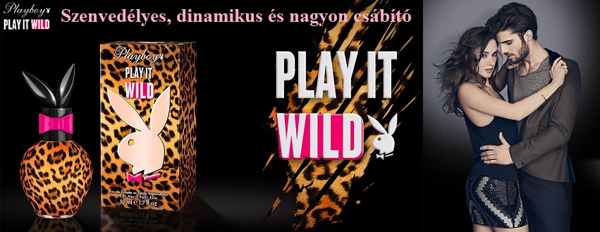 Playboy Play It Wild női parfüm