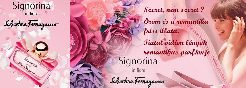 Salvatore Ferragamo Signorina In Fiore női parfüm