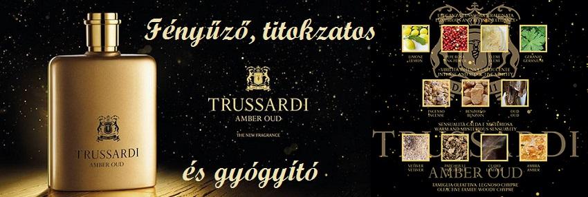 Trussardi Amber Oud férfi parfüm