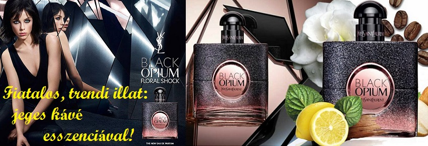 Yves Saint Laurent Black Opium Floral Shock női parfüm