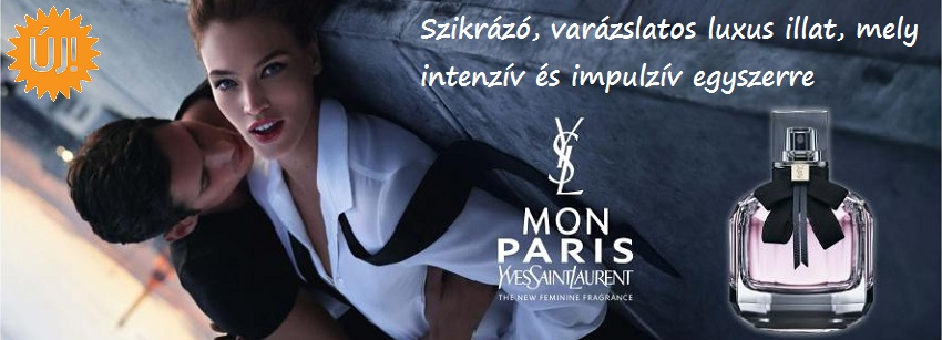 Yves Saint Laurent Mon Paris női parfüm