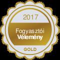 Fogyasztói Vélemény Gold 2017