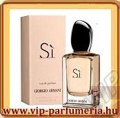 Giorgio Armani Si parfüm illatcsalád