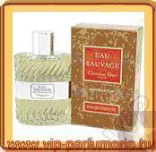 Christian Dior Eau Sauvage parfüm illatcsalád
